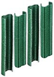 GAH-Alberts 530969 Drahtklammer | zinkphosphatiert, grün kunststoffbeschichtet | Breite 22 mm | 200er S