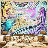 NTtie Wandteppich Tuch Wandtuch Wand Wandbehang Tapisserie für Wohnzimmer Schlafzimmer Bedrucktes bronzierendes hängendes Tuch Wandbehang Strandtuch