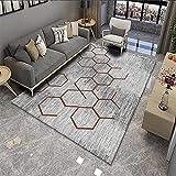 VOVTT Teppichgreifer Antirutschmatte, Antirutschmatte Für Teppich, Rug Grippers Rutschfester Teppichunterlage, Washable Wiederverwendbar Teppich,80x120