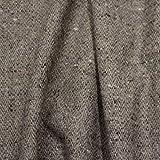 kawenSTOFFE Tweedstoff Wollstoff Braun Beige Blau meliert Mittelalter Anzugstoff Meterware
