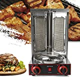 Berkalash Dönermaschine, 3000W Dönergrill Hähnchengrill Kebab Elektrisch Gyros Dönergerät, Kebab Grill Kebab Maschine