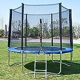Huaji Outdoor-Sport-Sicherheitsnetz, für Erwachsene und Kinder, rundes Trampolin für Outdoor