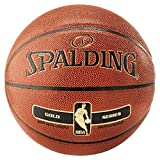 Spalding NBA Gold In/Out Ball Basketball (7, orange)
