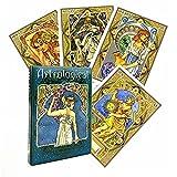 Astrologische Orakelkarten die Weisheit der Sterne im Alltag im Jugendstil-Brettspielkarten-Deck