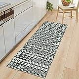 Küchenteppich Schlafzimmer Eingang Fußmatte Badezimmer Anti-Rutsch-Matte 3D Home Flur Bodenmatte Dekoration Türmatte A5 40x120cm