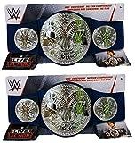 Wrestling Set Mit 2 WWE Mattel Smackdown Tag Team Meisterschaft Kopie Kinder Spielzeug Titel Gürtel
