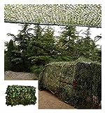 HUIYAN Tarnnetz Camouflage Netz,Jagd Tarnung Netz Tarnnetz Für Militär, Jagd, Schießen, Kinder Camping Zelt Dekor | UV-Schutz Aus Oxford-Stoff Camo-Netz (Size : 3x4m(9.8 * 13.1ft))