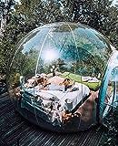 N/Z Campingausrüstung Transparentes Zelt Aufblasbares Bubble House Camping im Freien Campingreise Gastfamilie Golfplatz Rastplatz Luftkuppelzelte Balldurchmesser 5 km