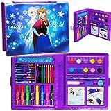 alles-meine.de GmbH 52 TLG. Set __ XL Stifte-Koffer -  Disney die Eiskönigin - Frozen  - Malkoffer mit Stiften + Filzstifte + Sticker / Aufkleber + Buntstifte + Wasserfarben + ..