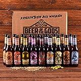 WACKEN BRAUEREI Craft Beer Box 20 x 0,33 l verschiedene Sorten | GÖTTERGABE | Viking Craftbeer Set Gift for Men | Wikinger Kraft Bier Geschenk für Männer | Party Festival Heavy Metal