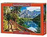 Castorland CSC104109 Braies Lake, Italy, 1000 Teile Puzzle, Bunt