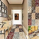 Comeno Läufer brücke, Teppich Flur läufer rutschfest rutschfeste schmutzabweisend Luxury läufer Teppich Flur für Wohnzimmer Flur küche - 80x220
