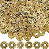 Boao Chinesische Feng Shui Münzen Glück Münzen I-Ching Münzen für Gesundheit und Reichtum (100, 0,8 Zoll)