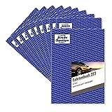 AVERY Zweckform 223-10 Fahrtenbuch für PKW im 10er-Pack (vom Finanzamt anerkannt, A5, 80 Seiten insgesamt 858 Fahrten, für Deutschland und Österreich zur Abgrenzung privater/geschäftlicher Fahrten)