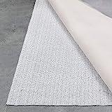 Teppich Wölkchen Teppich-Unterlage Anti-Rutsch-Matte II 17 Größen II rutschfest in Schublade Auto Kofferraum und Zuschneidbar I 110 cm rund