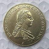 Chaenyu 1806 Österreichische Münze Kupfer Gedenkmünze antike Münzhandwerk Sammlung