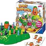 Ravensburger 21556 - Lotti Karotti, Brettspiel für Kinder ab 4 Jahren, Familienspiel für Kinder und Erwachsene, Kinderspiel-Klassiker für 2-4 Spieler