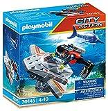 PLAYMOBIL City Action 70145 Seenot: Tauchscooter im Rettungseinsatz, Ab 4 Jahren