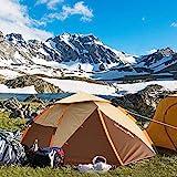 ZOMAKE Leichtes Camping Zelt für 2 3 4 Personen - Wasserdicht Pop Up Zelt (Braun/Neu)
