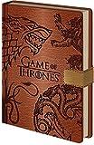 Pyramid International Game of Thrones 'Sigils' Notizbuch, A5