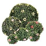 AILILI Künstliche Pflanzenkugel -Buchsbaum Kugel -1 Stück,lebensechte Pflanzen,Gute Zähigkeit,Nicht Leicht Zu Verformen,künstliche Buchsbaumkugel 120mm,200mm,300mm,550mm,700mm