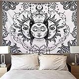 Mandala Hintergrund Stoff Wandteppich Strand Wandbehang Decke Schlafzimmer Wohnzimmer Dekoration Wandteppich Decke A10 180X200CM