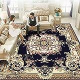 DJUX Flächenteppiche für Wohnzimmer, flauschig zottelig Superweicher Teppich Geeignet als Schlafzimmerteppich Teppiche Heimdekor Kinderzimmer Teppiche Kindermatte,120x160