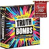 Truth Bombs – Partyspiel Gesellschaftsspiel Spieleabend mit Freunden – HCM Kinzel – 55138