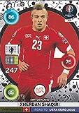 Panini Adrenalyn XL Road to UEFA Euro 2016–Xherdan Shaqiri Fans Favourites Karte