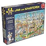 Jumbo 19014 - Jan Van Haasteren - Auf dem Schiff ist Nichts im Griff, 1000 Teile Puzzle