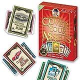 Familienspiele für Erwachsene und Jugendliche - Cover Your Assets Kartenspiel, Familienspiel, Deckkartenspiel für Erwachsene und Jugendliche Strategie Brettspiel und Party Brettspiel