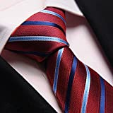 Red Twill Men'S Krawatten Herren Anzüge Business Narrow Ties Hochzeit Krawatte,R