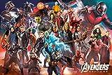 Avengers: Endgame Poster Line Up