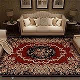 MMHJS Home Decoration Persian Ethnic Style Teppich Rechteckiger Großer Teppich Luxuriös Und Komfortabel 80x120