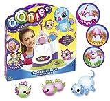 Oonies, Maschine, enthält 36 Noppen, 18 Deko-Zubehör, 6 Anschlüsse & Zubehör, um schöne Bunte Figuren, Spielzeug für Kinder ab 5 Jahren, NEE05