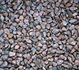 Granitsplitt rot 20 Kg Granit Splitt Zierkies Gartenkies Teichkies Waschkies 16-32 mm