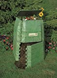 Hochwertiger Thermokomposter aus dickwandigem Kunststoff für Küchen- und Gartenabfälle – Umweltschutzpreis Gewinner – M