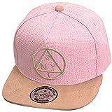 Belsen Kind Hip-Hop Dreieck Muster Cap Baseball Hut (Kind, rosa)