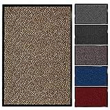 Floordirekt Schmutzfangmatte Sky | Fussmatte in 11 Größen & viele Farben | Türmatte für innen & außen (90 x 120 cm, Beige)