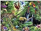 DIY Diamond Painting Set Zoo 5D Diamant Malerei Kits für Erwachsene Kinder für Home Wand-Decor 40X50CM
