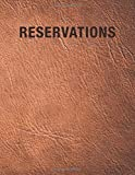 Reservations: Reservation Book For Restaurant | 2019 365 Day Guest Booking Diary | Hostess Table Log Journal