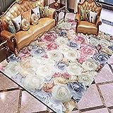 AOACD Fluffy Gebiet Teppiche Anti-Skid Yoga Teppich zum Wohnzimmer und Schlafzimmer Big Fussboden Teppich,2,120X180CM