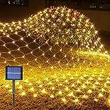 YUWEX 192 LED Lichternetz Lichterkette Netzlicht IP65 Wasserdicht. Mesh Lichtervorhang Christbaumlichterkette für Party Wohnzimmer Kinderzimmer Indoor Outdoor Dekorationen Garten-Lichtes 3M x 2M