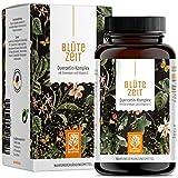 Quercetin Bromelain Komplex 120 Kapseln Vegan - 500mg Quercetin hochdosiert, 100mg Bromelain und 16mg Vitamin C pro Tagesdosis - Blütezeit von Naturtreu