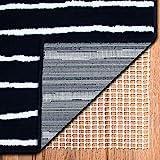 sinnlein® Antirutschmatte Teppichunterlage | Teppichstopper | Teppichunterleger zuschneidbar, rutschfest und für Fußbodenheizung geeignet (50 x 80 cm)