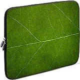 Sidorenko Laptop Tasche für 13 - 13.3 Zoll kompatibel für Macbook Pro / Macbook Air / Lenovo - Universal Notebooktasche Schutzhülle - Laptoptasche aus Neopren, PC Computer Ultrabook Hülle Sleeve Case Etui, Grün