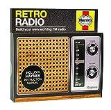 Haynes HRR1493 Retro-Radio-Bausatz, Schwarz
