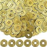 Boao Chinesische Feng Shui Münzen Glück Münzen I-Ching Münzen für Gesundheit und Reichtum (400, 0,8 Zoll)