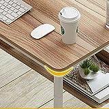 Moderner einfacher Schreibtisch für Heimbüro, Computertisch mit Regalen, PC, Laptop, Arbeitsschreibtisch für Schlafsaal, Schlafzimmer, Gaming-B, 100 x 45 x 73 cm (E_80 x 40 x 73 cm