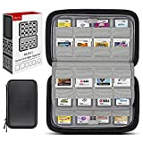 Sisma 64 Spiele Aufbewahrung Tasche Game Case für Nintendo 3DS 2DS DS - Schwarz